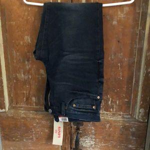 Levi's 511 jeans, W32, L30, blue black